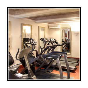 The fitness room