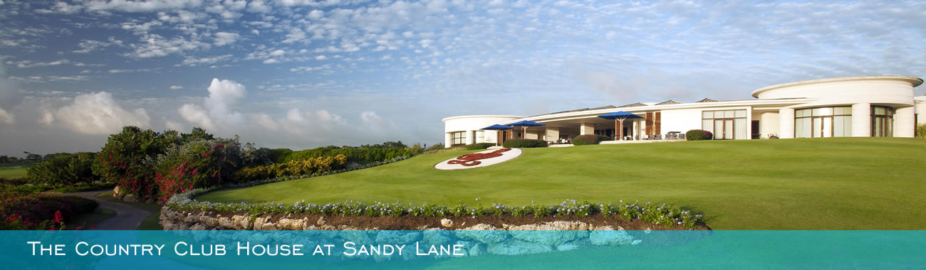 The Country Club House at Sandy Lane