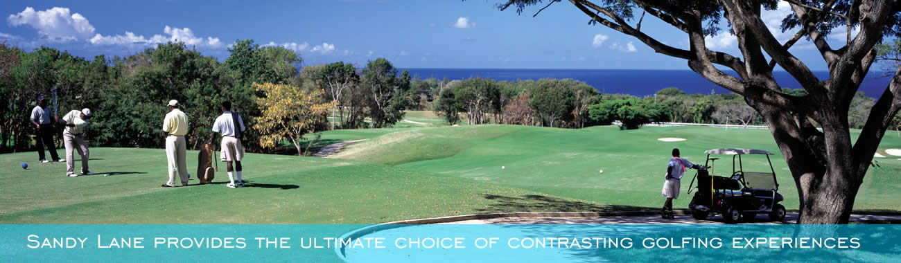 Sandy Lane provides the ultimate choice of contrasting golfing experiences