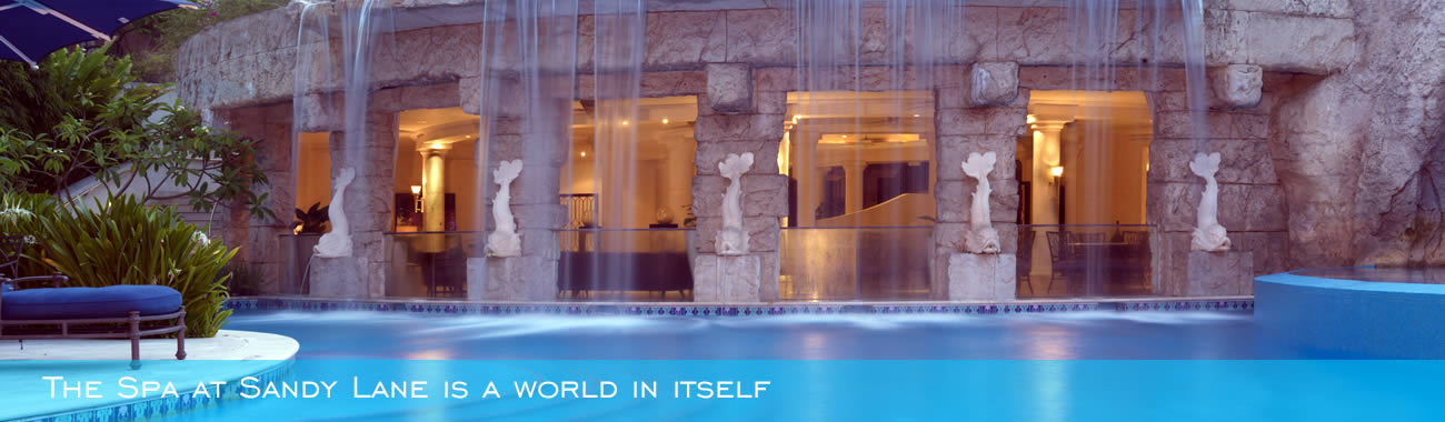The Spa at Sandy Lane is a world in itself